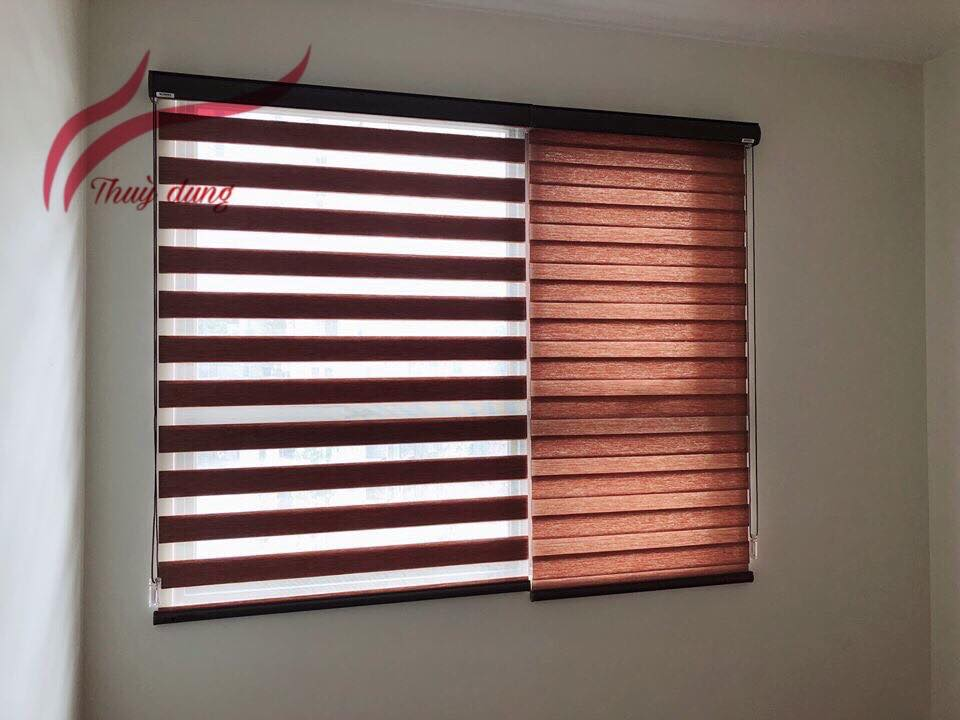 rèm cầu vồng hàn quốc cửa sổ hà nội