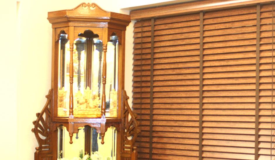 Tuyệt chiêu chọn rèm sáo gỗ tại Mê Linh Hà Nội