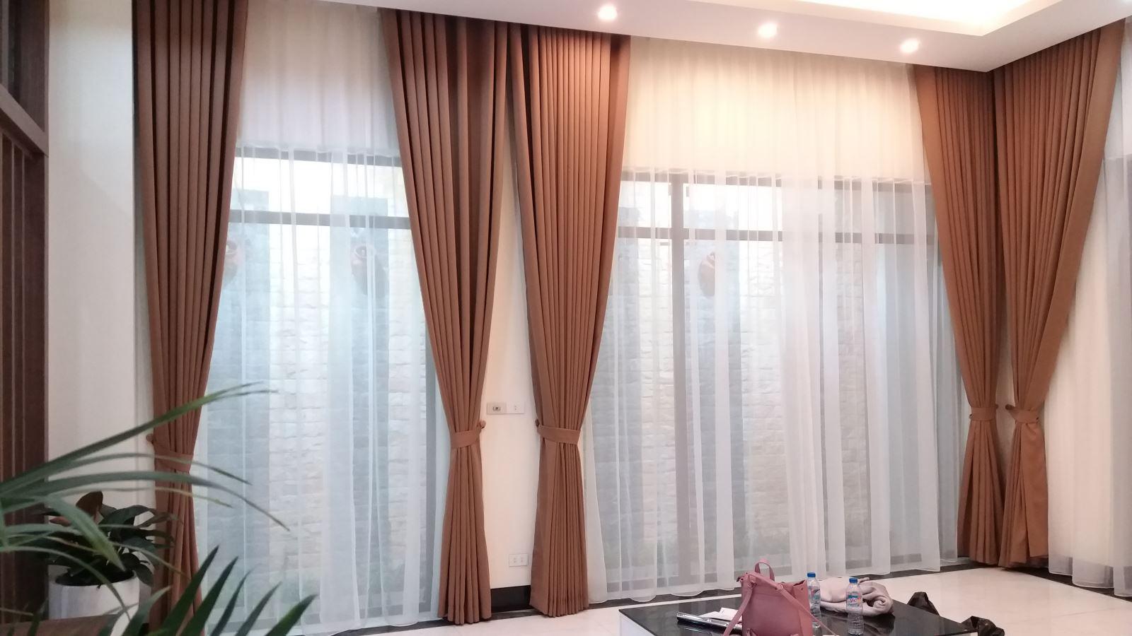 Rèm vải 2 lớp tại Thanh Xuân hà nội