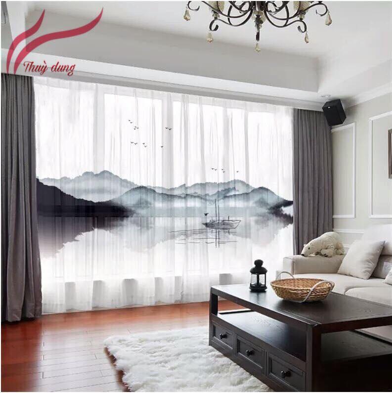 Rèm cửa giá rẻ tại Khương Mai - Khương Trung Thanh Xuân Hà Nội SK1163