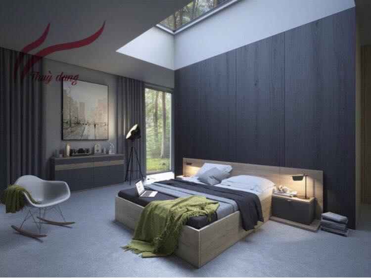 Chọn Màu Sắc Theo Phong THủy Rèm Cửa Phòng Ngủ SK928