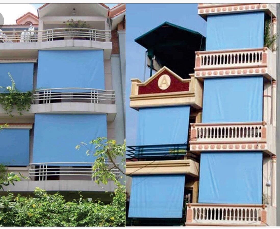Bạt che mưa nắng ban công tại Hà Nội 0975765295 BC02