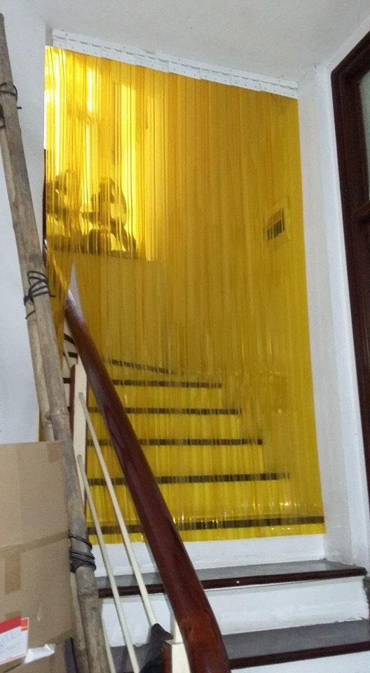 Rèm ngăn lạnh điều hòa - Rèm nhựa PVC giá rẻ NL02