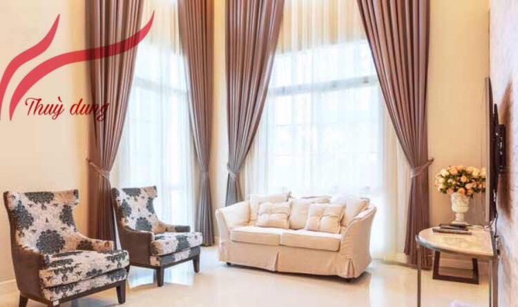 Tư Vấn Lựa Chọn  Rèm Cửa Cho Biệt Thự Tại VINHOMES SK889
