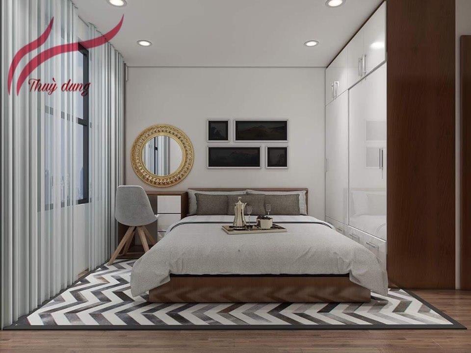 Rèm Vải - Rèm Roman Phòng Ngủ Hà Nội SK935