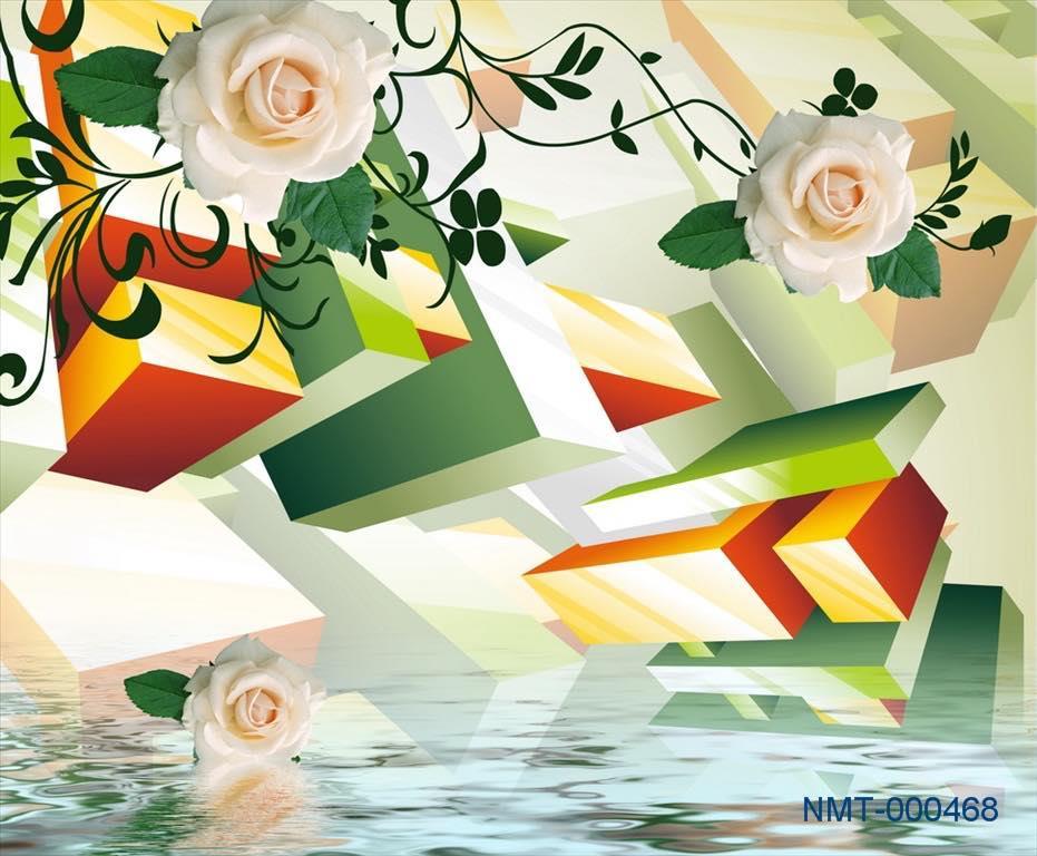 Rèm Cuốn Tranh 3D SKU01018