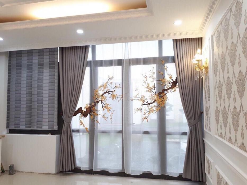 Rèm vải 2 lớp tại Hoàn Kiếm Hà Nội  0975 765 295 SK522